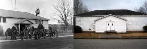 The Bemis School then and now.