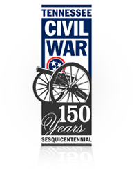 The logo of the Tennessee Civil War Sesquicentennial Commission.