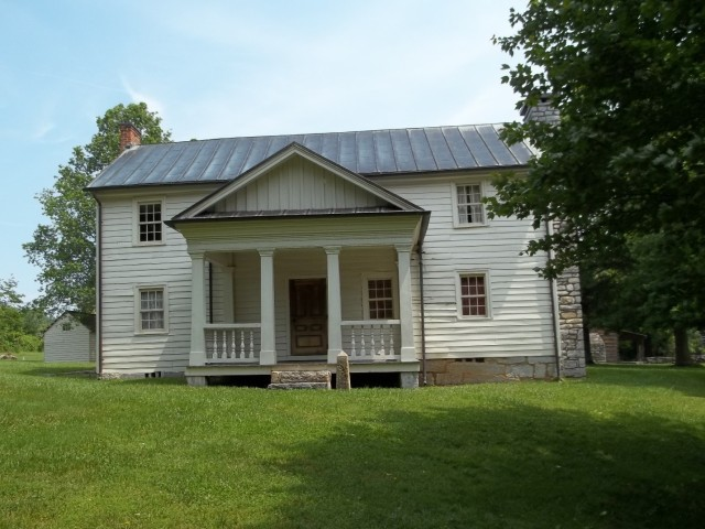 The main house at the Tipton-Haynes State Historic Site.