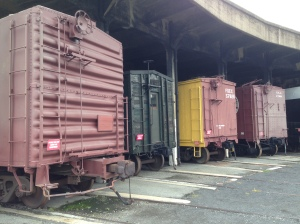 2. boxcars exterior