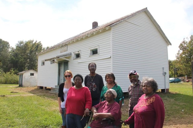 A day of fieldwork at Sitka School with African American community members who attended the school as children.