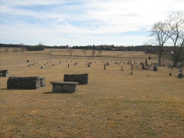 Bradley Creek Cemetery, Bradley Creek Road.