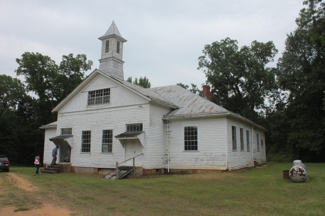 Prairie Mission School.