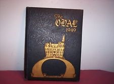 Fisk's yearbook, The Oval (1949).