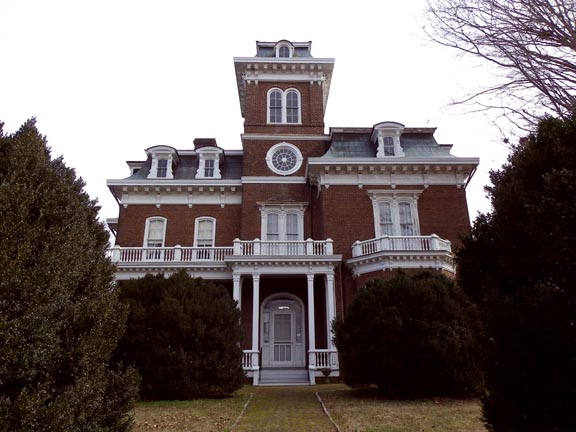 Glenmore Mansion, Jefferson City, Tennessee.