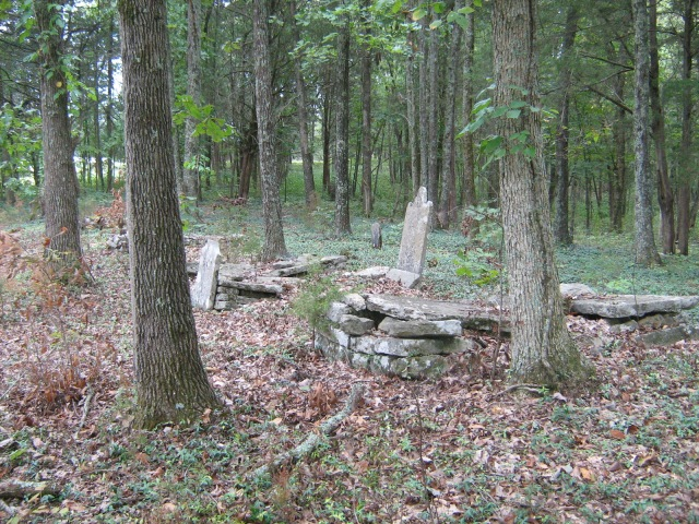 Old Section of Jackson Ridge Cemetery, Jackson Ridge Road.