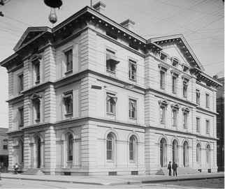 Custom House, Knoxville, Tennessee, circa 1904. Courtesy of  the Library of Congress.