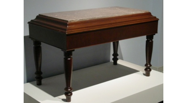 Table by Jeremiah Bond, Jonesborough, 1866, Tennessee State Museum Collection.