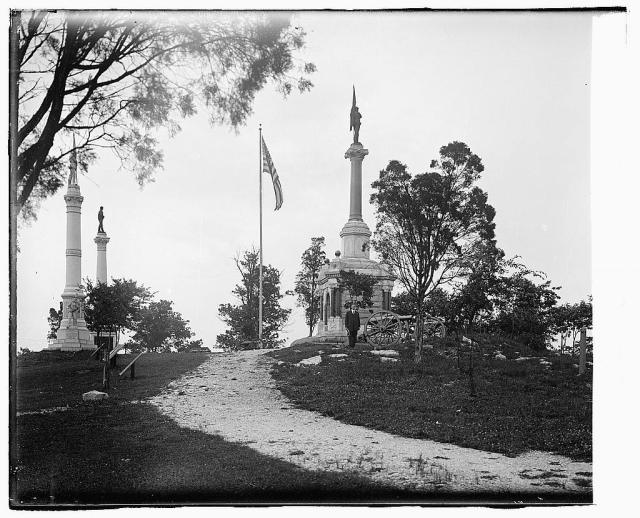 A 1918 view of the Chickamauga-Chattanooga National Military Park. Courtesy of the Library of Congress.