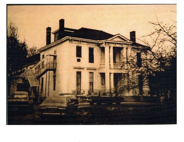 The Bristol Nelson School was housed in this building, which no longer stands. (Courtesy of the Rutherford County Archives.)