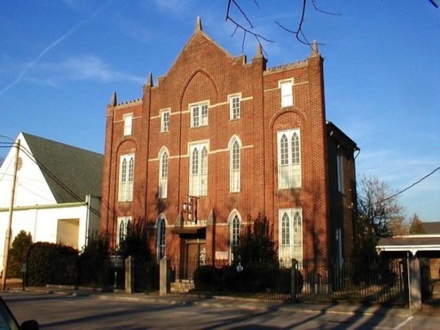 Historic Franklin Masonic Lodge.