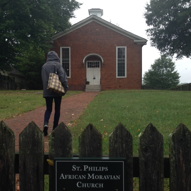 St. Philips African Moravian Church, Old Salem.