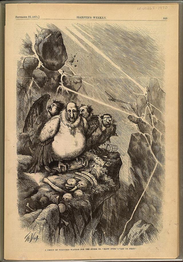 1. Nast, 1871, Vultures