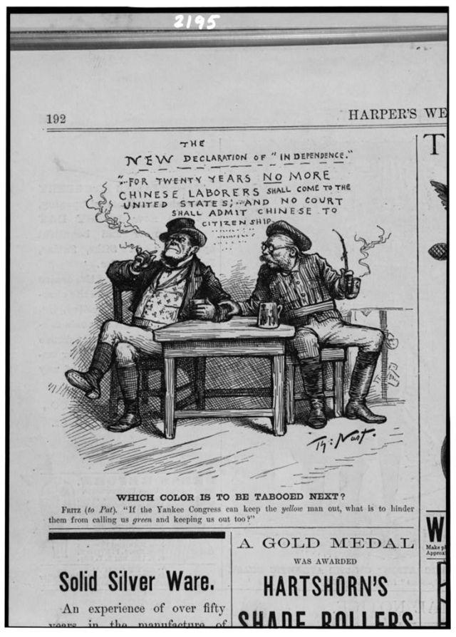 2. Nast, 1882, Immigration