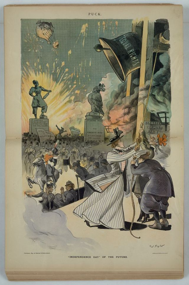 3. Taylor, 1894, Suffrage